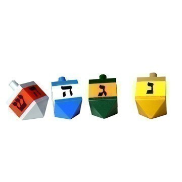 LEGO® DREIDELS SET OF 4 Thumbnail
