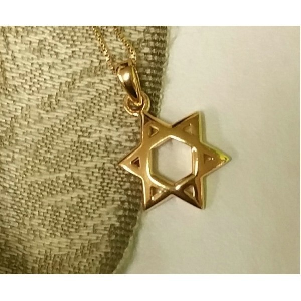 GOLD MAGEN DAVID MEDIUM SIZE Thumbnail