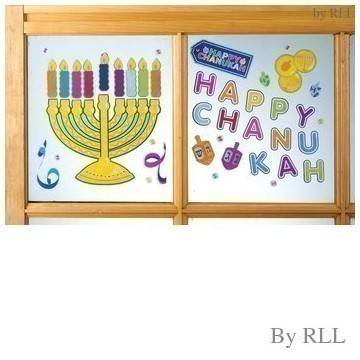 CHANUKAH WINDOW CLINGS Thumbnail
