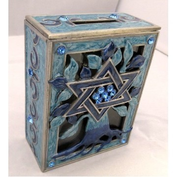 TREE OF LIFE TZEDAKAH BLUE Thumbnail