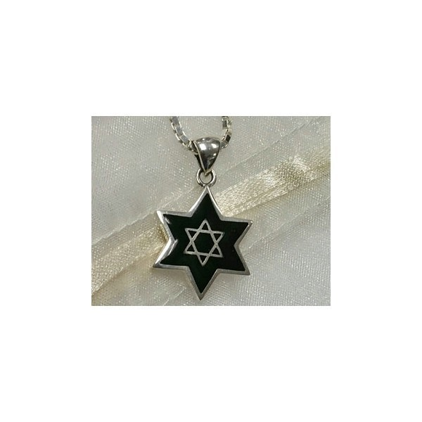 ONYX MAGEN DAVID WITH STAR Thumbnail