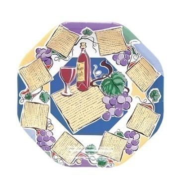10 IN PASSOVER DINNER PLATE Thumbnail