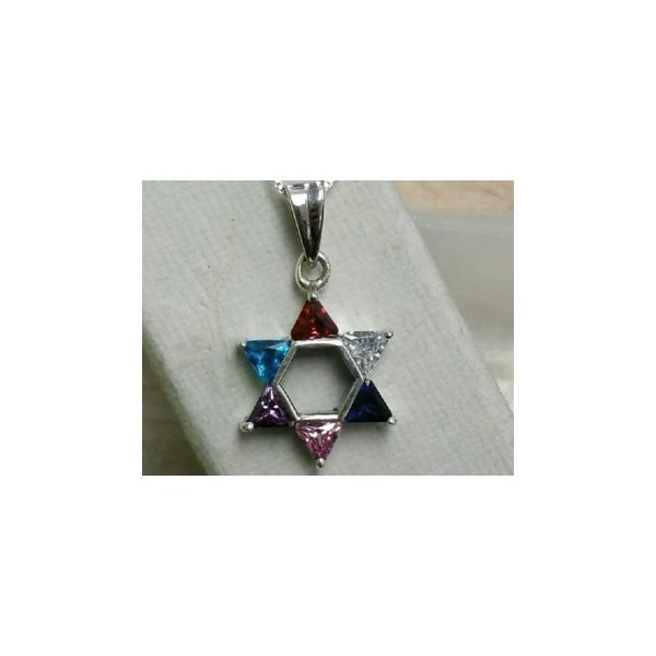 MIX CZ STAR OF DAVID Thumbnail