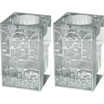 JERUSALEM CRYSTAL CANDLESTICKS Thumbnail