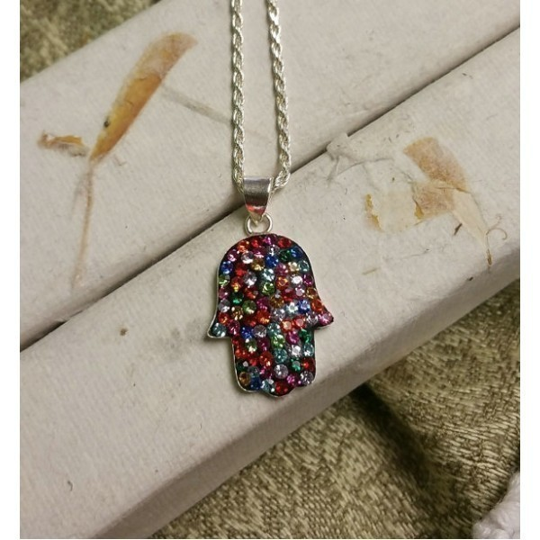 ALL COLOR CRYSTAL HAMSA Thumbnail