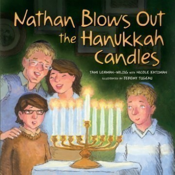NATHAN BLOWS HANUKKAH CANDLES Thumbnail