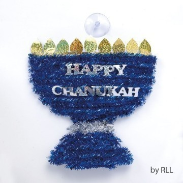 MENORAH TINSEL DECORATION Thumbnail