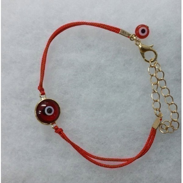 EVIL EYE RED BRACELET Thumbnail