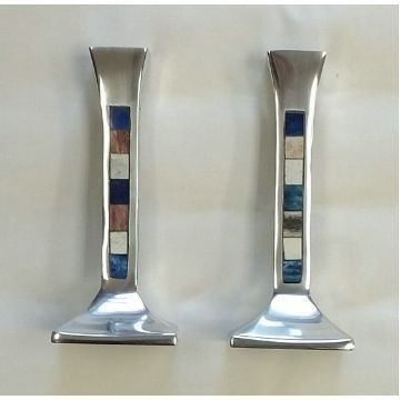 MOSAIC BLUE VERTICAL CANDLES Thumbnail