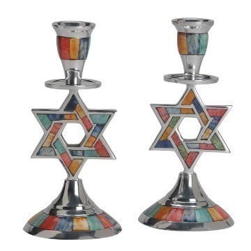 MOSAIC MULTI STAR INLAY CANDLESTICKS Thumbnail