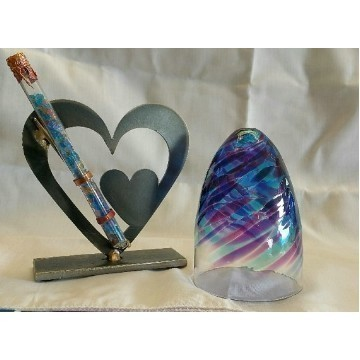 DOUBLE HEART GLASS KIT LG Thumbnail