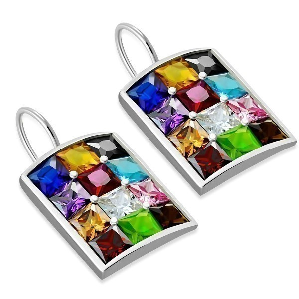 HOSHEN CZ EARRINGS Thumbnail