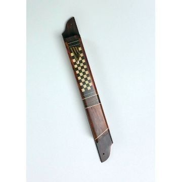 CHECKERBOARD WOOD MEZUZAH Thumbnail