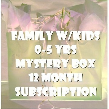 ONE YEAR FAMILY W/ KIDS 0-5 SUBSCRIPTION Thumbnail