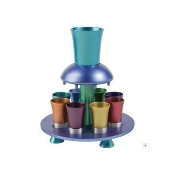 MULT ANODIZED KIDDUSH FOUNTAIN Thumbnail
