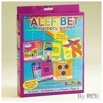 ALEF BET MEMORY GAME Thumbnail
