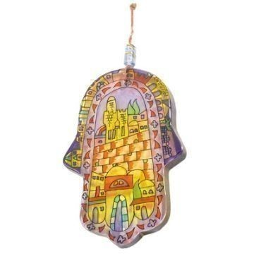 GLASS HAMSA JERUSALEM Thumbnail