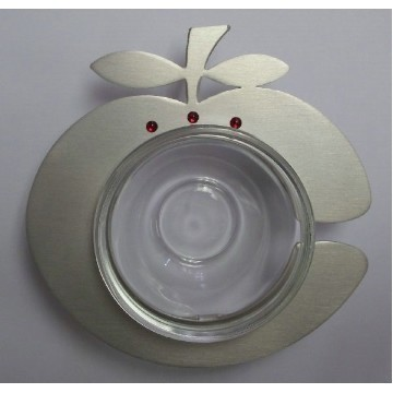 ALUMINUM APPLE SHAPED DISH Thumbnail
