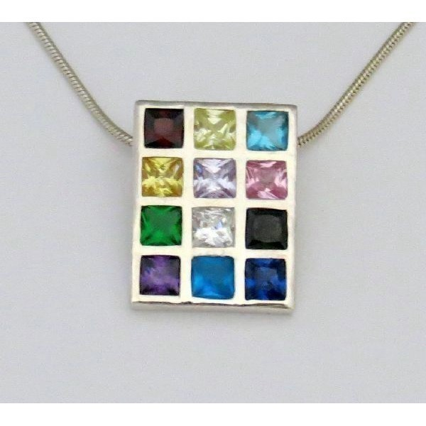 HOSHEN CZ NECKLACE medium Thumbnail