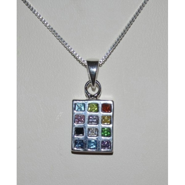HOSHEN CZ NECKLACE small Thumbnail