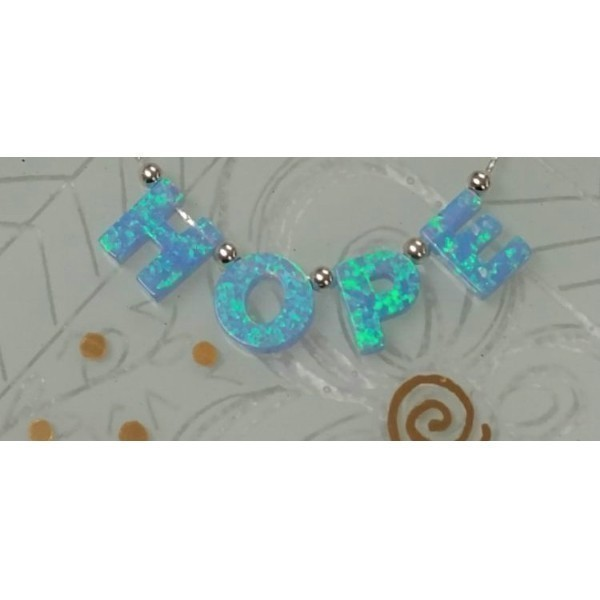 OPAL HOPE BLESSING NECKLACE Thumbnail
