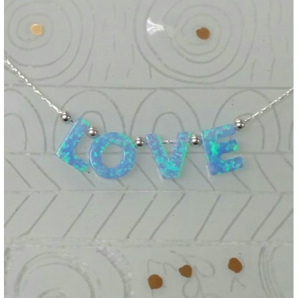 OPAL LOVE BLESSING NECKLACE Thumbnail