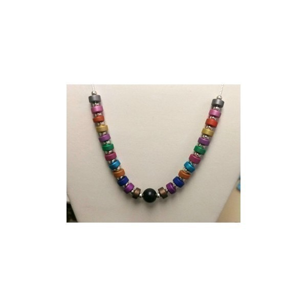 ANODIZED 6MM DISC RAINBOW NECK Thumbnail