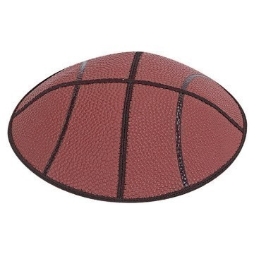 BASKETBALL LEATHER KIPPAH Thumbnail