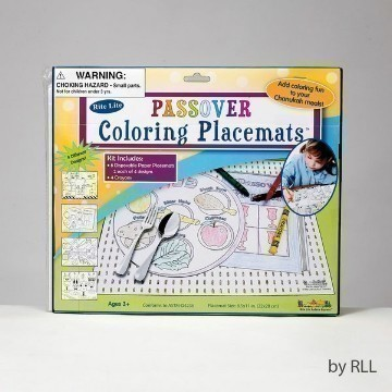 PASSOVER COLORING PLACEMAT Thumbnail