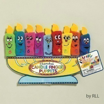 CANDLE FINGER PUPPETS Thumbnail