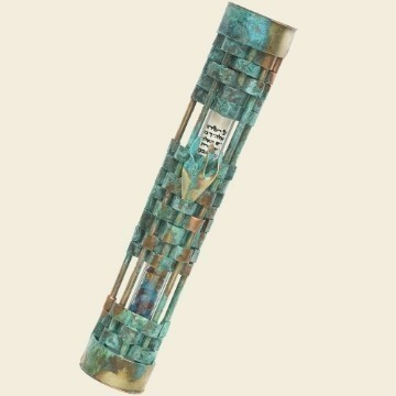 PATINA WEAVE WEDDING MEZUZAH Thumbnail