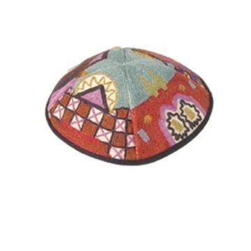 EMBROIDERED JERUSALEM KIPPA Thumbnail