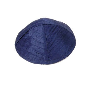 RAW SILK BLUE KIPPA Thumbnail