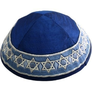 STAR RIM KIPPA ALL BLUE   Thumbnail