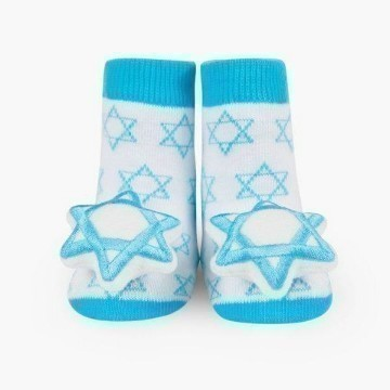 STAR OF DAVID RATTLE SOCK Thumbnail