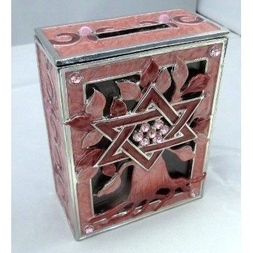 TREE OF LIFE TZEDAKAH PINK Thumbnail
