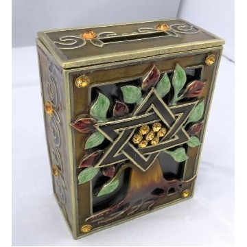TREE OF LIFE TZEDAKAH BROWN Thumbnail