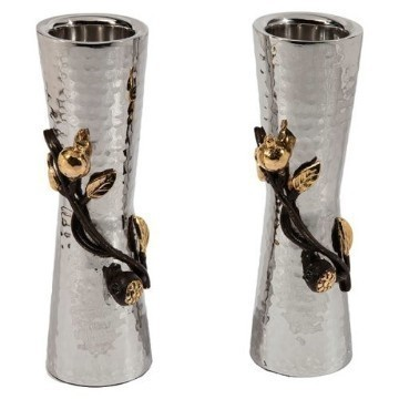 HAMMERED RIMON CANDLESTICKS SM Thumbnail