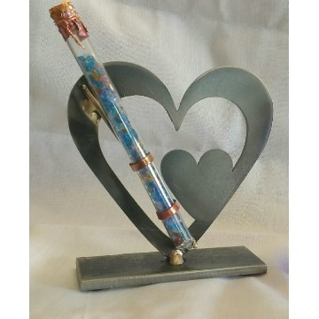 DOUBLE HEART SCULPTURE LG Thumbnail