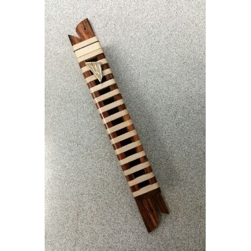LADDER MEZUZAH IN MAPLE & COCO Thumbnail