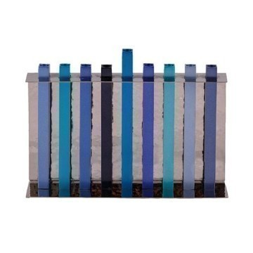 BLUE ANODIZED MENORAH Thumbnail