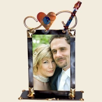 WEDDING SHARDS PICTURE FRAME 5 X 7 Thumbnail