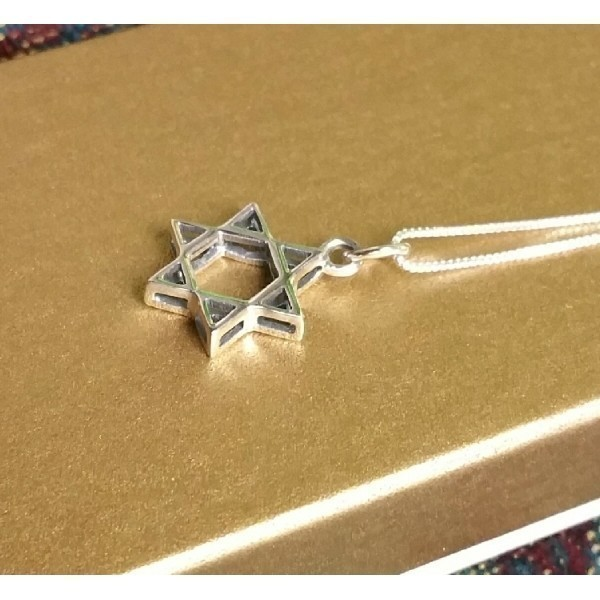 3D SILVER STAR OF DAVID Thumbnail
