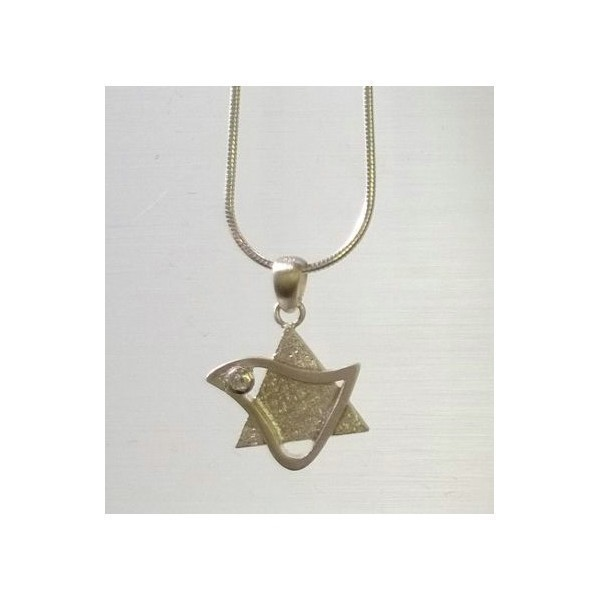 DOVE STAR STERLING SILVER Thumbnail