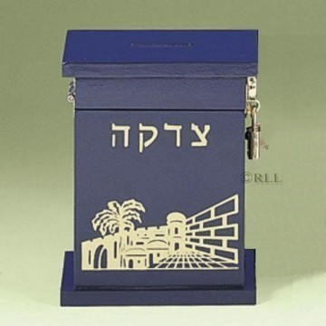 TZEDAKAH BLUE WOOD Thumbnail