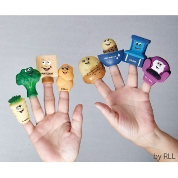 FOUR QUESTIONS FINGER PUPPET Thumbnail